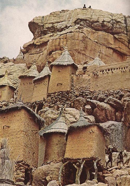 Dogon village ,Mali