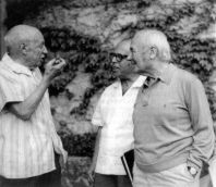 Sert with Picasso and Juan Miro