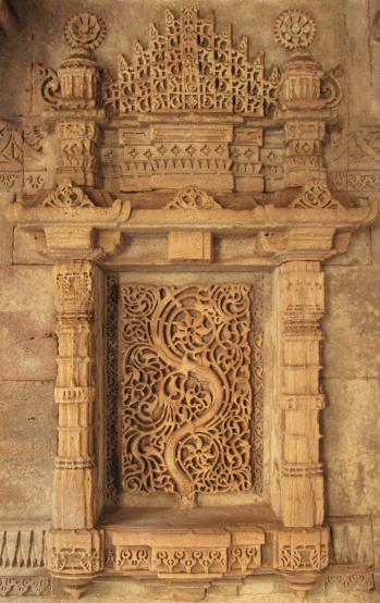 A detail at Adalaj-ni-vav