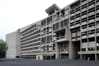 Chandigarh Secretariat by Corbusier